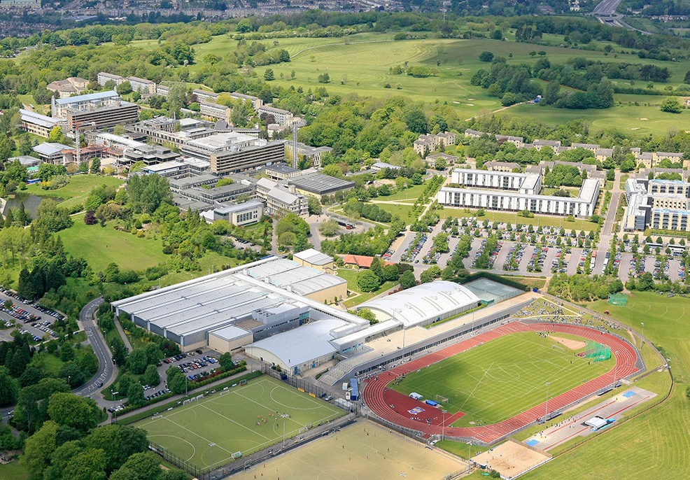 The university of Bath campus