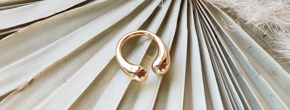Ring // DASH vergoldet