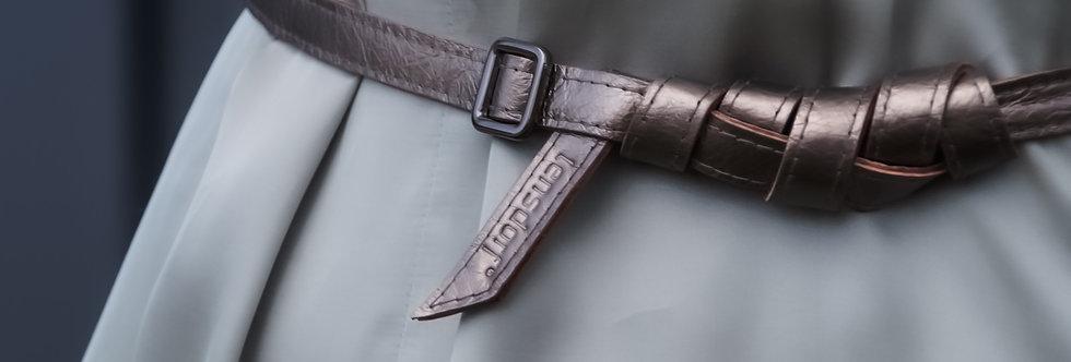 Gürtel // SLIM Metallic