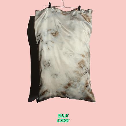 SILKCASE MARBLE silk pillowcase