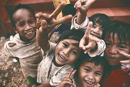 Happiness of the poor children.__Taken i