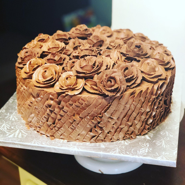 My delicious chocolate rose!