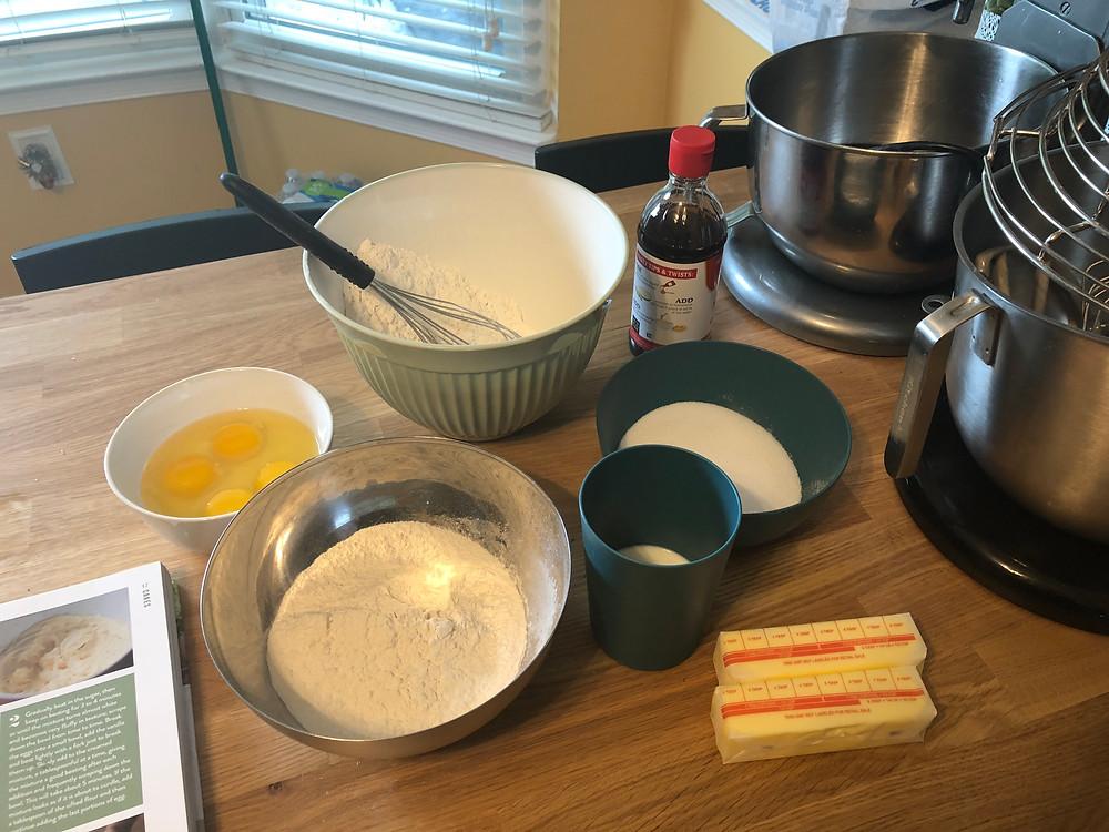 Great British Baking Adventure, Victoria Sponge, Sugar Bread