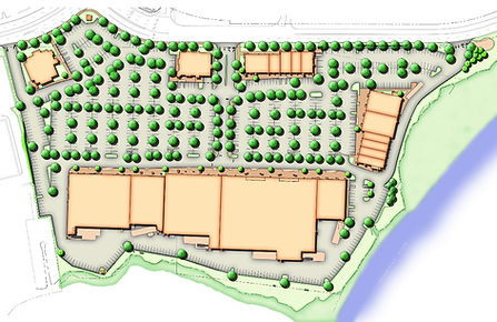 Site Plan of North Haven Commons