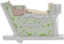 Illustrative Site Plan Showing New Addition to Saxe Middle School in New Canaan, CT