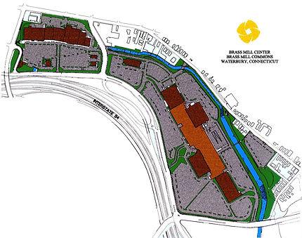 Plan for Brass Mill Center