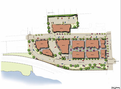 Illustrative Site Plan for Atlantic Wharf Development