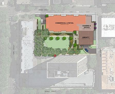 Crown Court II Site Plan
