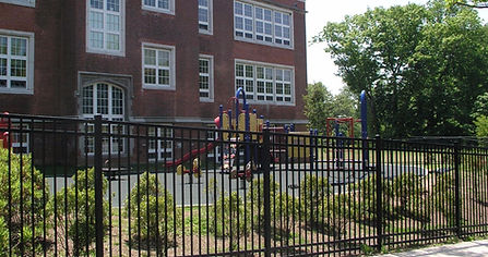 New Playground at Nathan Hale School in New Haven
