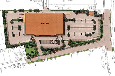 Site Plan for Stamford Stop & Shop
