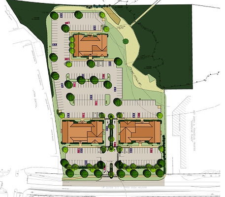Aerial Vicinity Plan for Patriot Medical Center in Guilford, CT