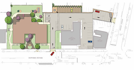 Illustrative Site Plan for The New Ronald McDonald House