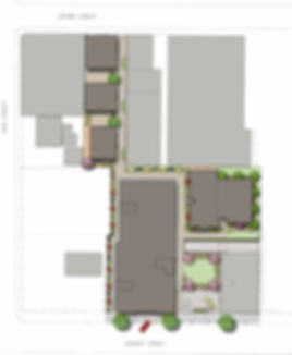 Illustrative Site Plan for George Street Apartments