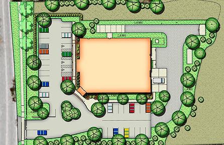Site Plan fir Backus Plainfield Emergency Center