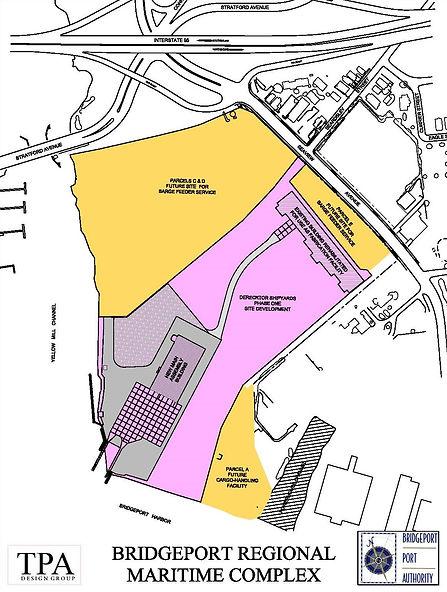Plan for Bridgeport Regional Maritime Complex