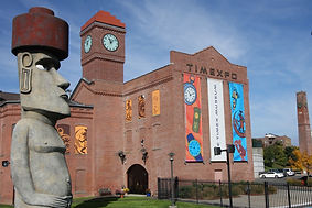 Easter Island Statue and Timexpo Museum in Waterbury, CT