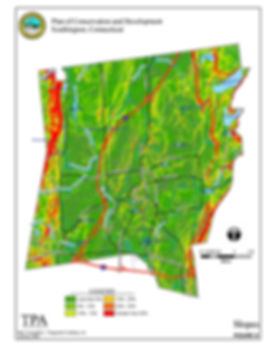 Slope Analysis from Southington, CT Plan of Conservation and Development