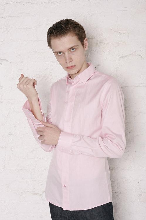 "Рубашка ""Розовый жаккард"""
