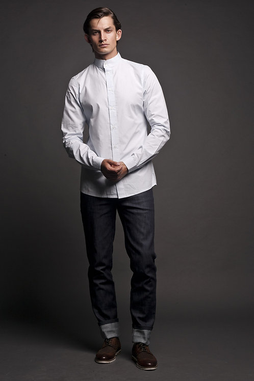 Рубашка со стойкой