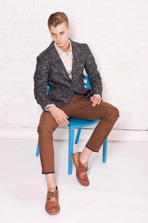 Пиджак тонкая шерсть