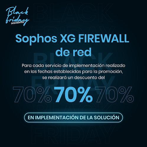 Sophos XG FIREWALL de red