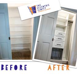 Before & After Closet Closet Design