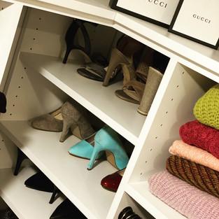 Shoe Storage & Closet Shelves