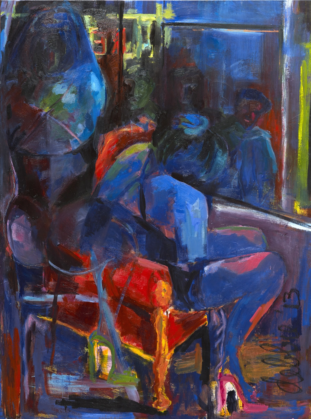 Window Prostitution - 2013 - oil on linen - 200 x 160 cm