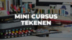 Workshop Mini Cursus Tekenen
