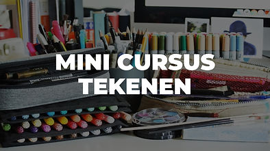 Workshop Mini Cursus Tekenen