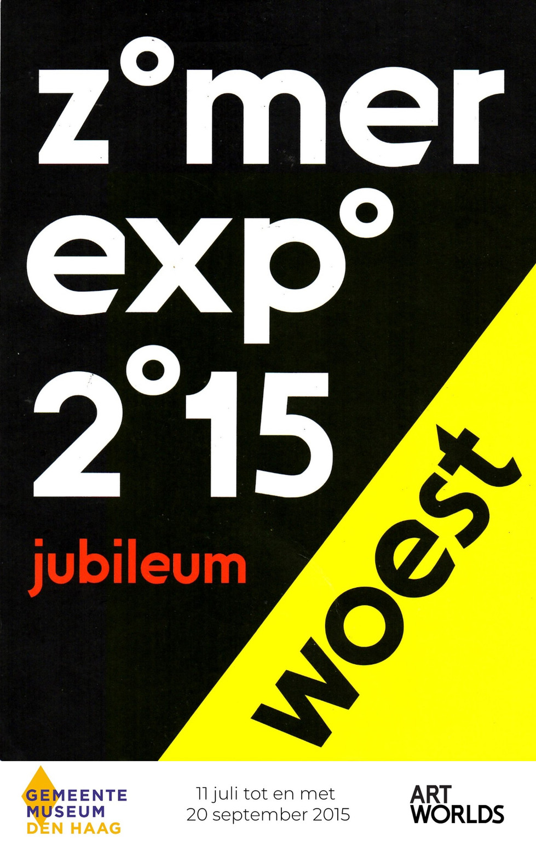 Zomer Expo Woest 2015 Gemeentemuseum Den Haag