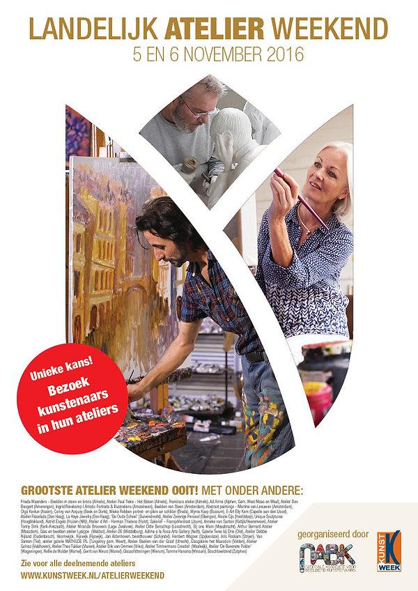 Landelijk Atelier Weekend 2016