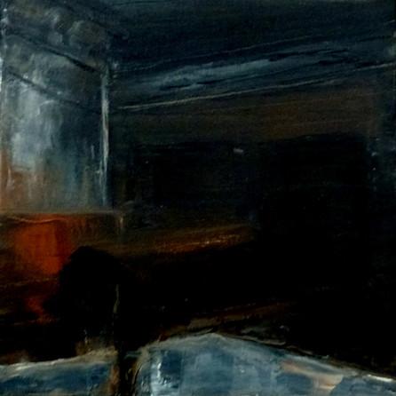 Auschwitz 2 - 2019 - oil on canvas - 20 x 20 cm