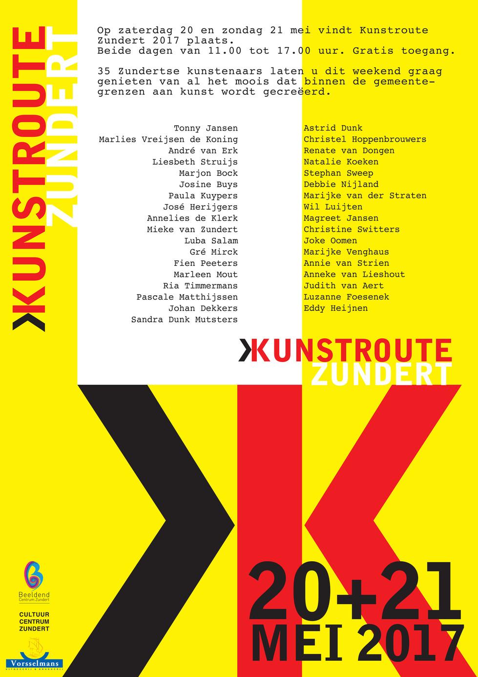 Kunstroute Zundert 2017