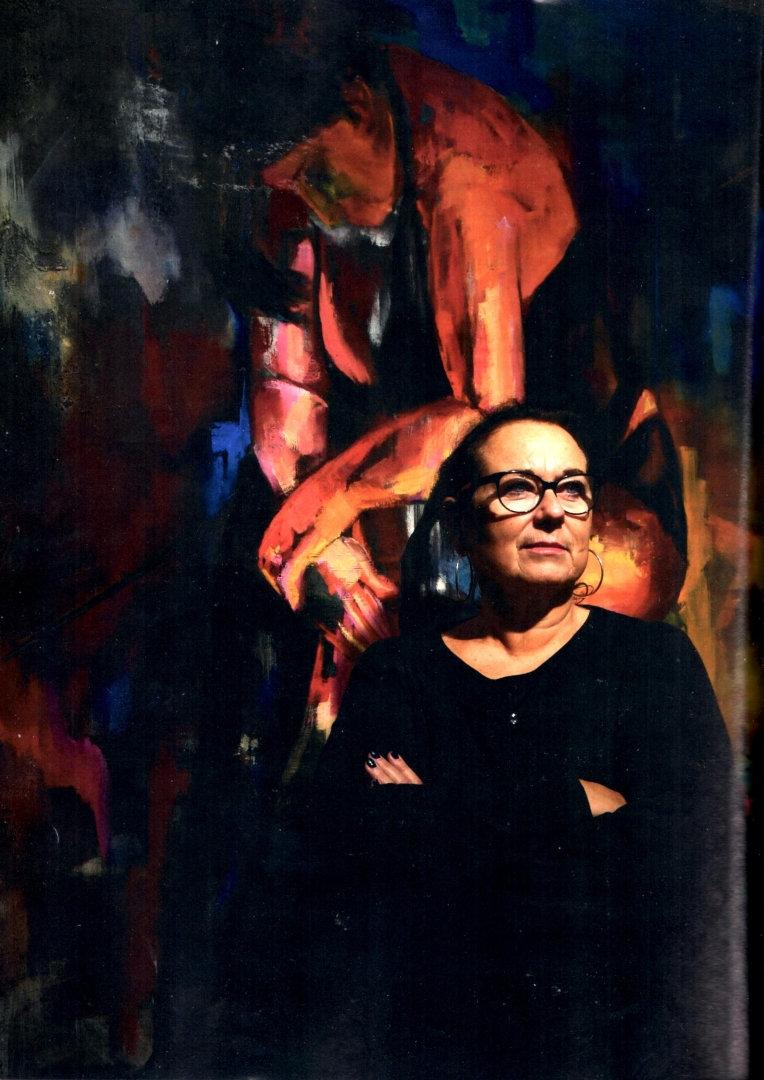 Debbie Nijland schilderij olieverf What a Day