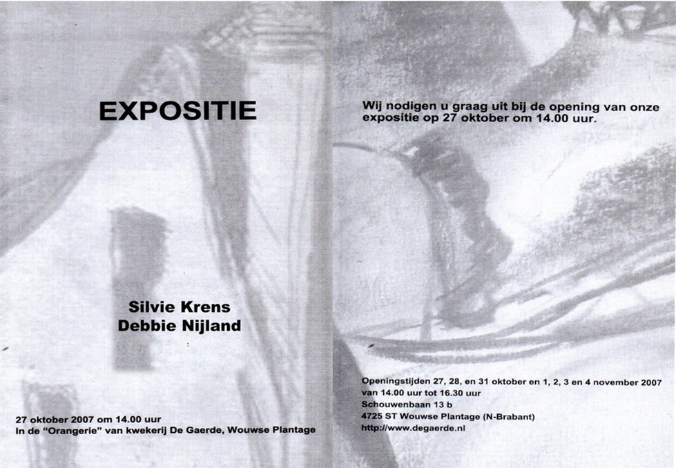 Debbie Nijland Silvie Krens Expo 2007