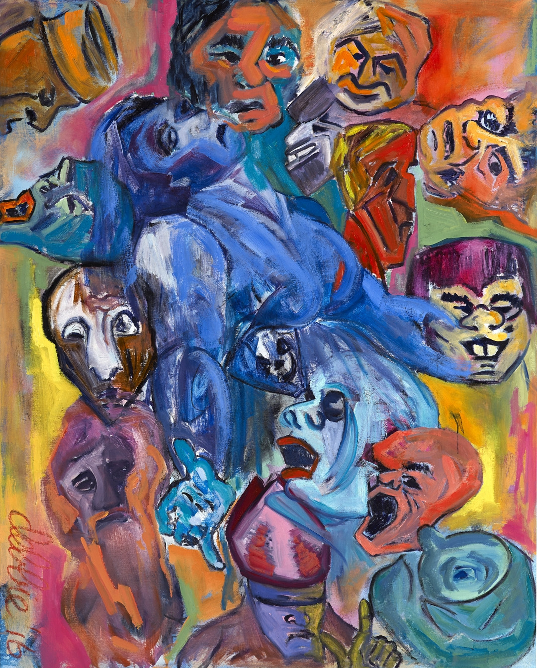 Sweet Misery - 2016 - oil on linen - 150 x 120 cm