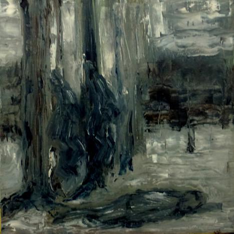 Auschwitz 4 - 2019 - oil on canvas - 20