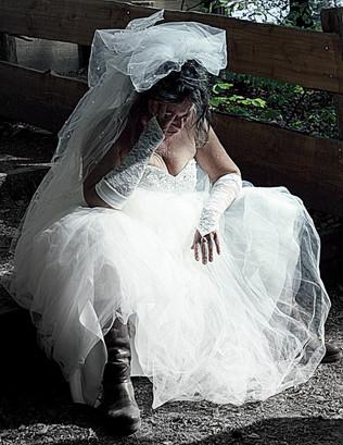 Abandoned Bride Study 25