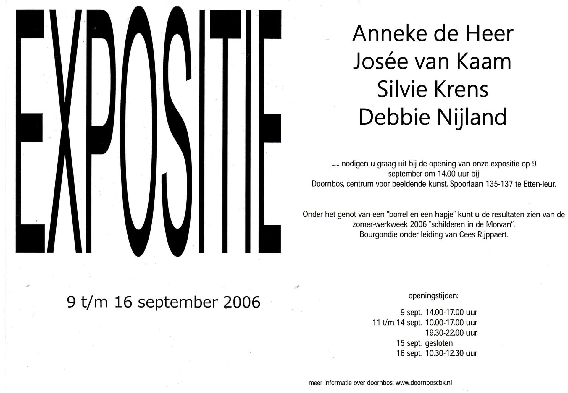 Debbie Nijland Expositie 2006