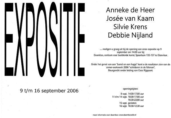 Expositie Doornbos 2006 Exhibition