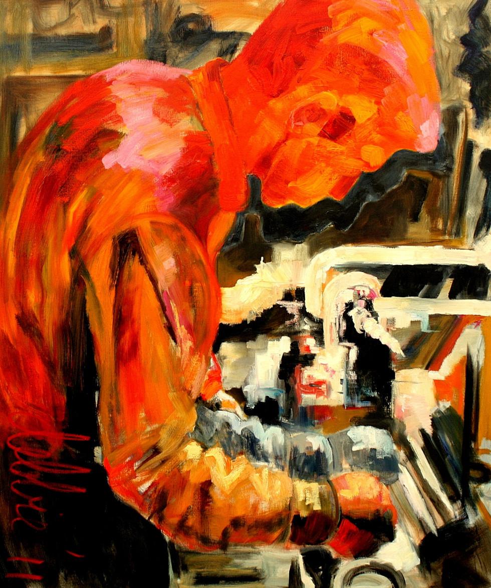Ambachtsschool Jordaan - 2011 - oil on linen - 120 x 100 cm