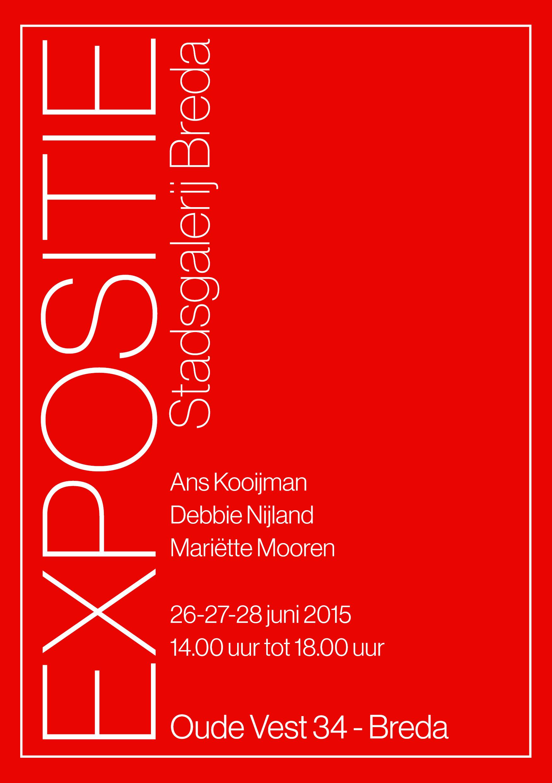 Expositie Stadsgalerij Breda 2015