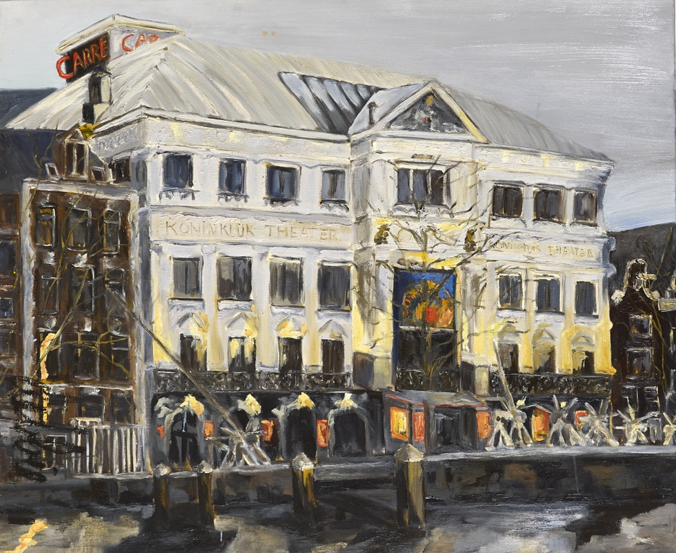Royal Theater Carré - 2011 - oil on linen - 100 x 120 cm