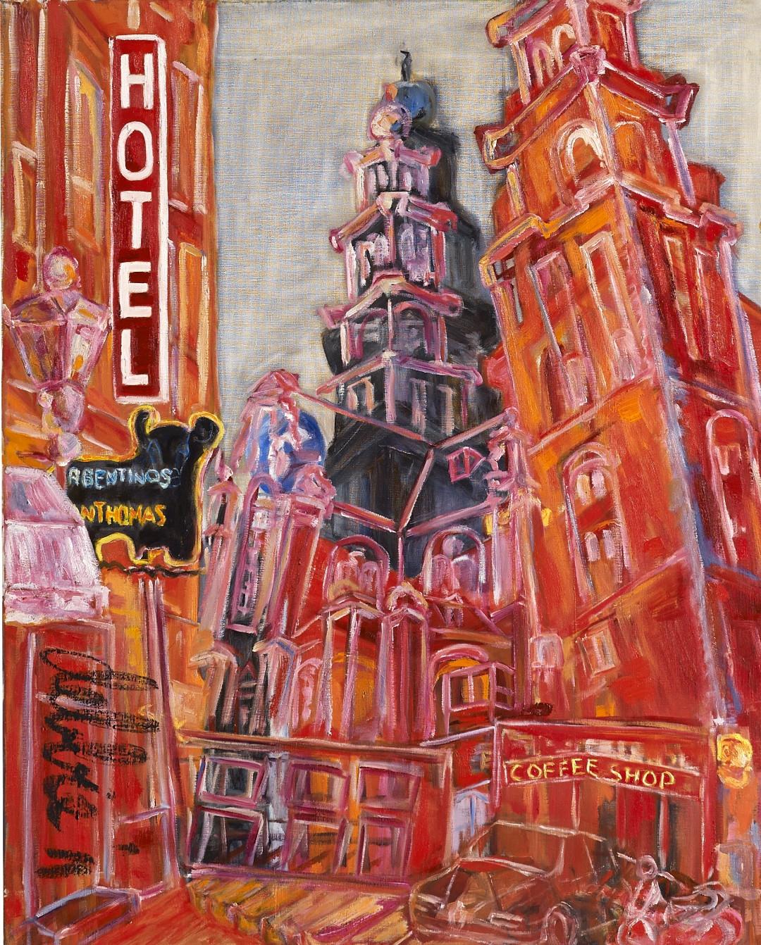 De Westertoren - 2011 - oil on linen - 100 x 80 cm