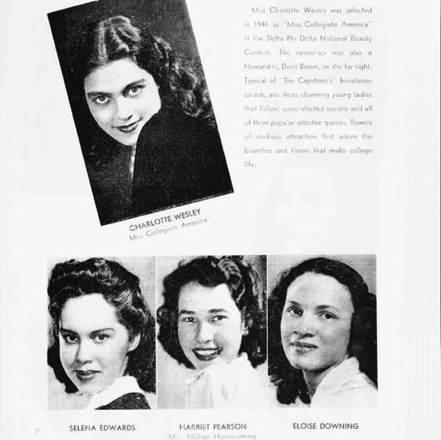 HU Yearbook 1942 ( A thing of Beauty).jp