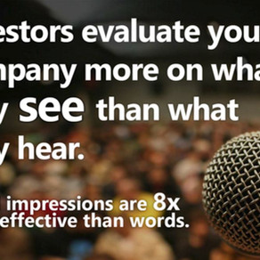 INVESTORS EVALUATE YOUR COMPANY