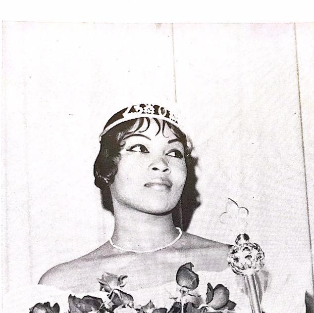 1961 Orange and Green Queen- Betty Steve
