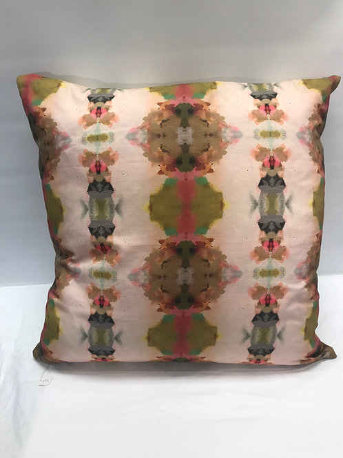 Under The Sea Pink Linen Large