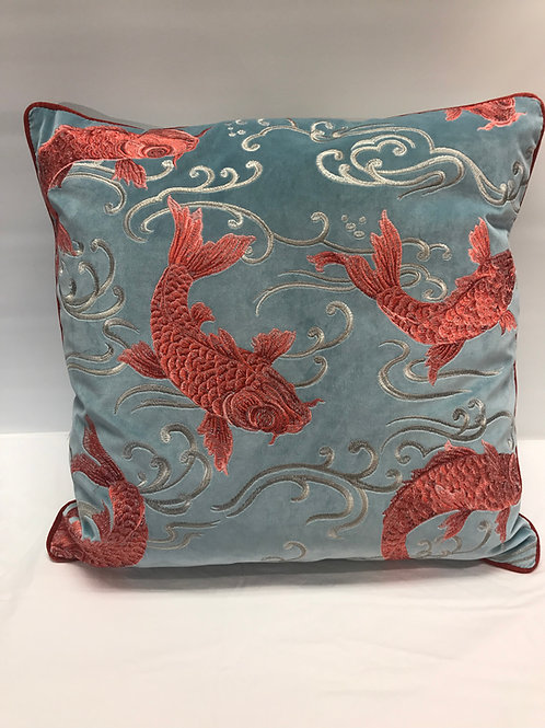 Upstream Coral Embroidered